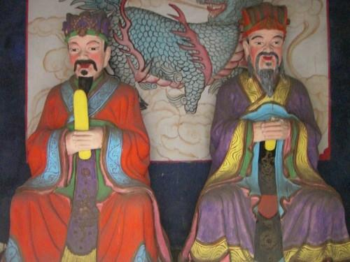 蕭何像、曹参像